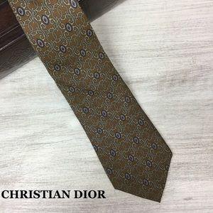 Christian Dior Classic Silk Necktie
